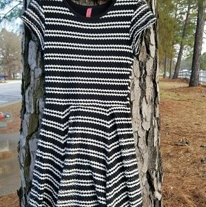 Eight Sixty Dress With Fluted A-Line Hem